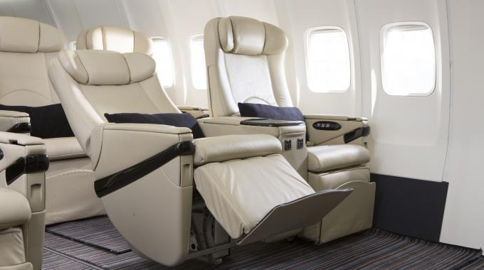 80-seat custom-configured jet